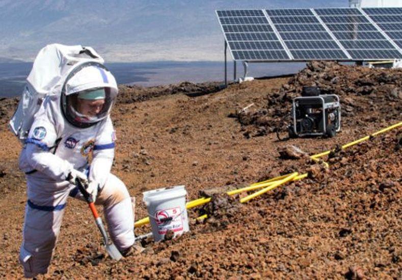 La NASA recluyó a seis personas por un año para simular la vida en Marte