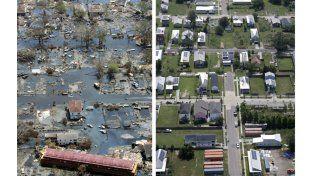Caos y devastación. En 2005