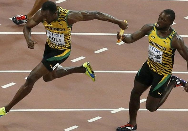 Usain Bolt imparable: sumó otro oro en la final de 4x100