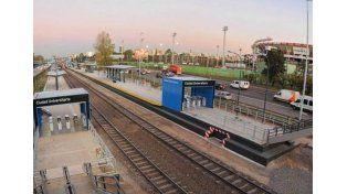 La Presidenta inaugura hoy la estación de trenes Ciudad Universitaria