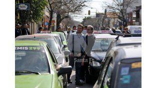 Choferes confirmaron movilizaciones sorpresivas en la ciudad para esta noche y mañana