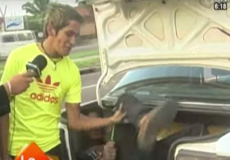 Taxista justiciero: encerró a ladrón en el baúl y fue a dar una nota