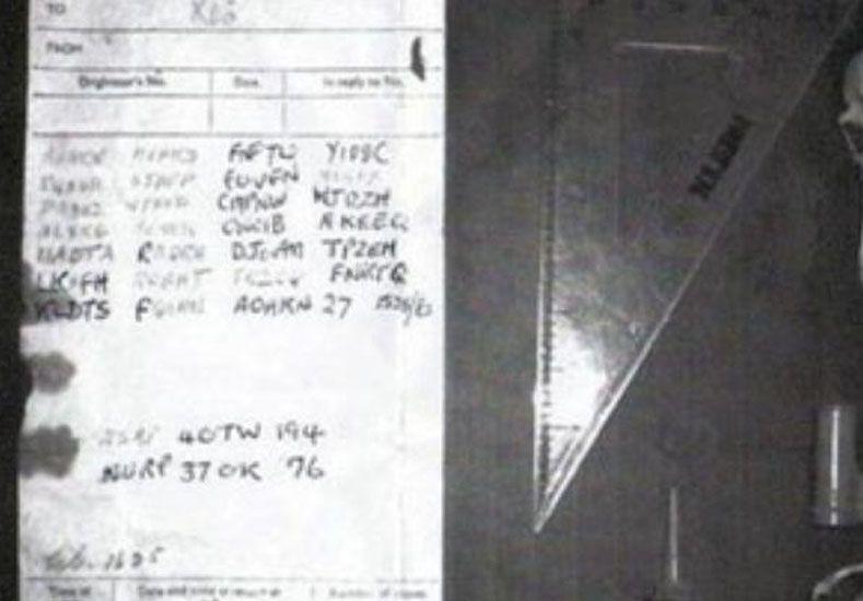 Un joven logró descifrar mensajes escritos con un código encriptado de la segunda guerra mundial