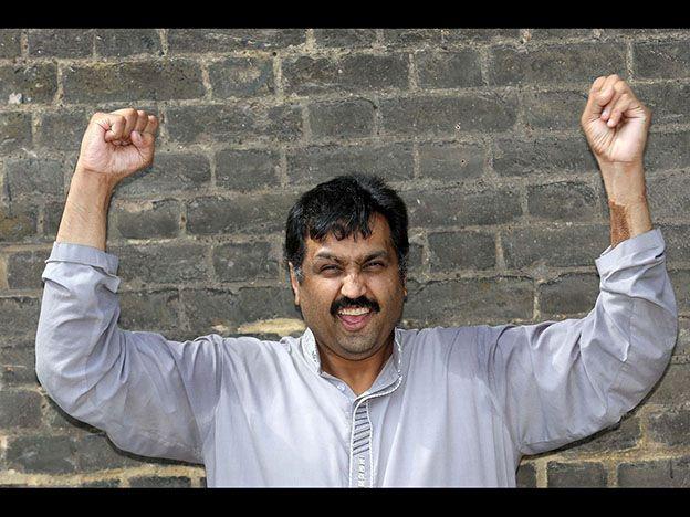 Mohammed Abad está feliz.