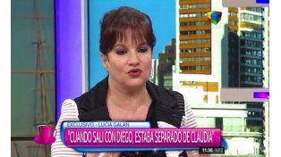 Lucía Galán reveló detalles inéditos de su relación con Maradona