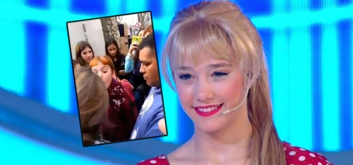 Fanática de Lali Espósito increpó a Ángela Torres