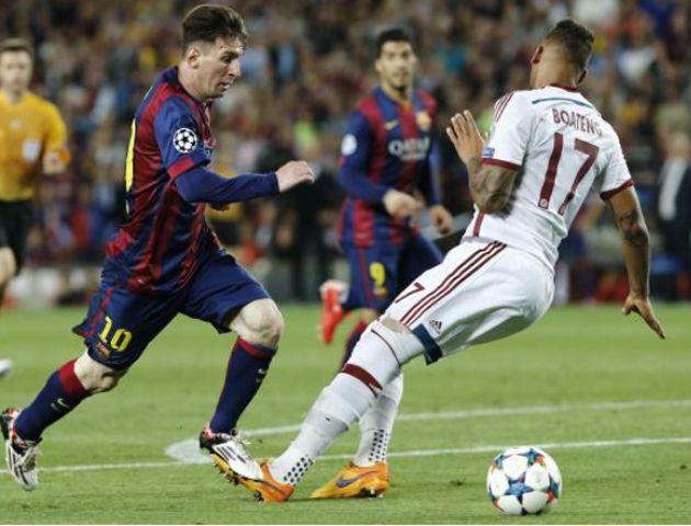El gol donde Messi le hizo pasar un papelón a Boateng fue elegido como el mejor de la Champions
