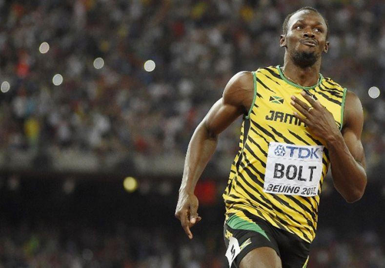 Bolt se consagró campeón del mundo en 200 metros