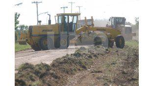 Plan Norte: están en marcha las obras de pavimento en barrio René Favaloro