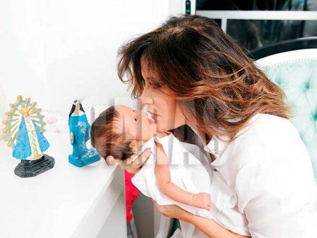 María Fernanda Callejón y una hermosísima producción junto a su hija Giovanna