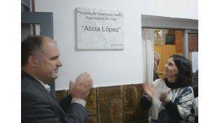 La EEMPA Nº 1.328 recibió el nombre de Alicia López, docente desparecida en la última dictadura