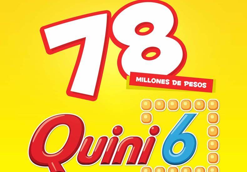 Esta noche se viene un pozo de 78 millones de pesos en el Quini 6
