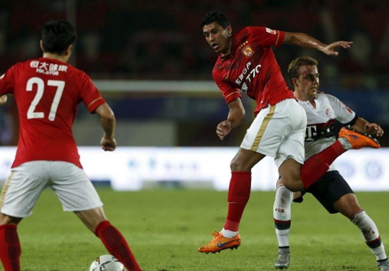 El golazo de tiro libre de Paulinho en China