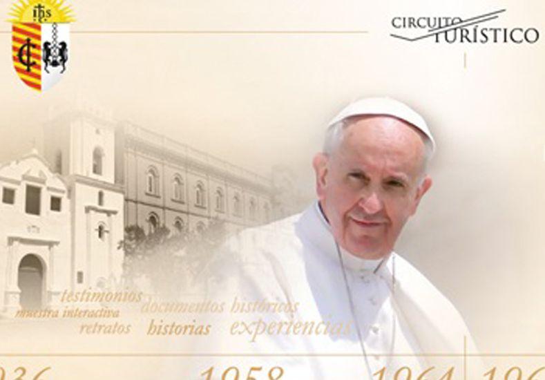 Este sábado se realizará el circuito El Paso del Papa por Santa Fe