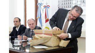 Cinco empresas presentaron ofertas para realizar la obra del tercer tramo del Desagüe Larrea