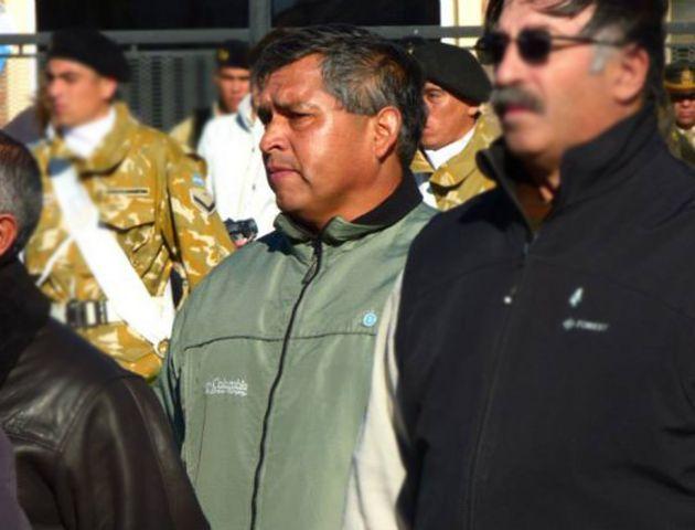 El casco usado por Muñoz