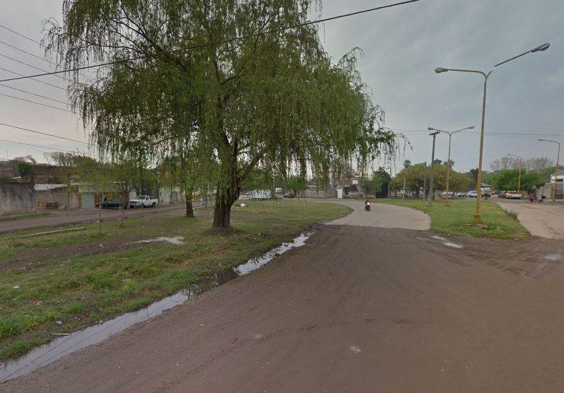 Zona donde ocurrió el enfrentamiento./ Google Mps.
