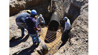 Se firman los contratos para los dos primeros tramos del desagüe Larrea