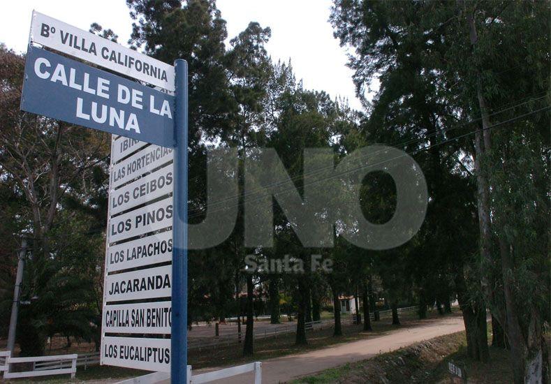 Preocupación. Los ciudadanos temen por anegamientos y por la continuidad de una calle / Foto: Archivo Uno Santa Fe
