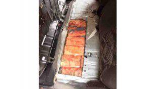 Afip evitó el contrabando de un cargamento de marhiuana valuado en 980 mil pesos