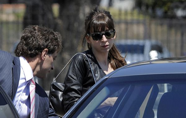 Florencia Kirchner le dará a Cristina su segundo nieto. (foto de archivo)