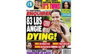 Angelina Jolie se está muriendo, según una revista norteamericana