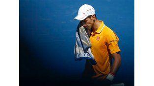 Djokovic sobrevivió a un susto