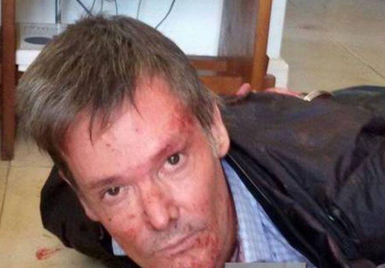 Se conocieron fotos de la escena del crimen del country