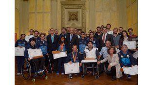 La provincia reconoció a los santafesinos que participaron de los Juegos Panamericanos y Parapanamericanos 2015
