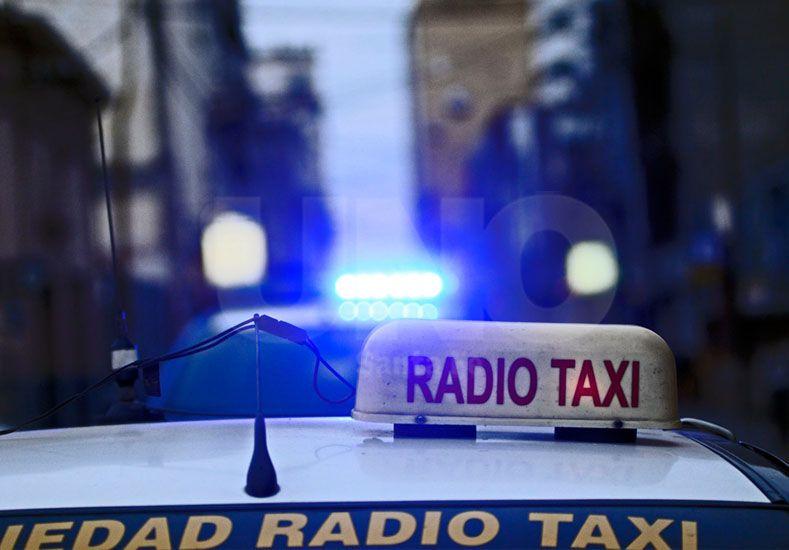 Detuvieron al ladrón herido que asaltó a un chofer de taxi