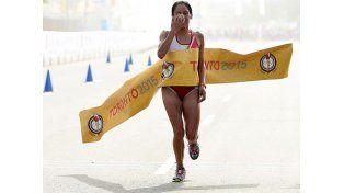 La campeona panamericana de maratón dio positivo