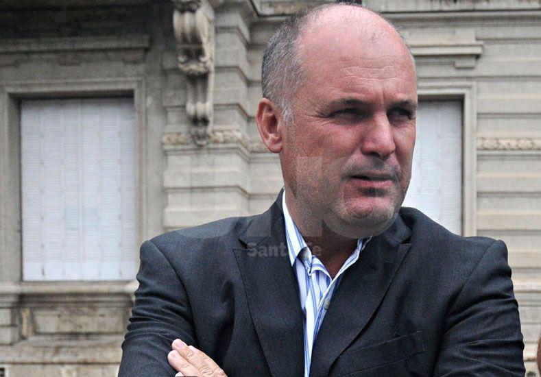 El vicegobernador salió al cruce de los dichos de Reutemann./ Manuel Testi.