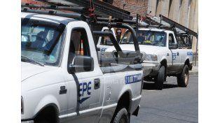 La EPE realiza trabajos en el corredor de la Ruta Nº1