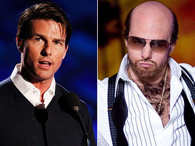 Tom Cruise en Una guerra de película (Tropic Thunder