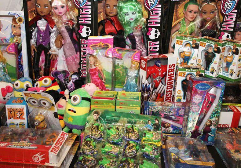 Secuestraron juguetes nocivos para la salud