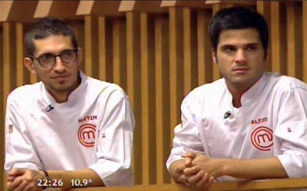 Martín y Alejo son los finalistas de Masterchef.