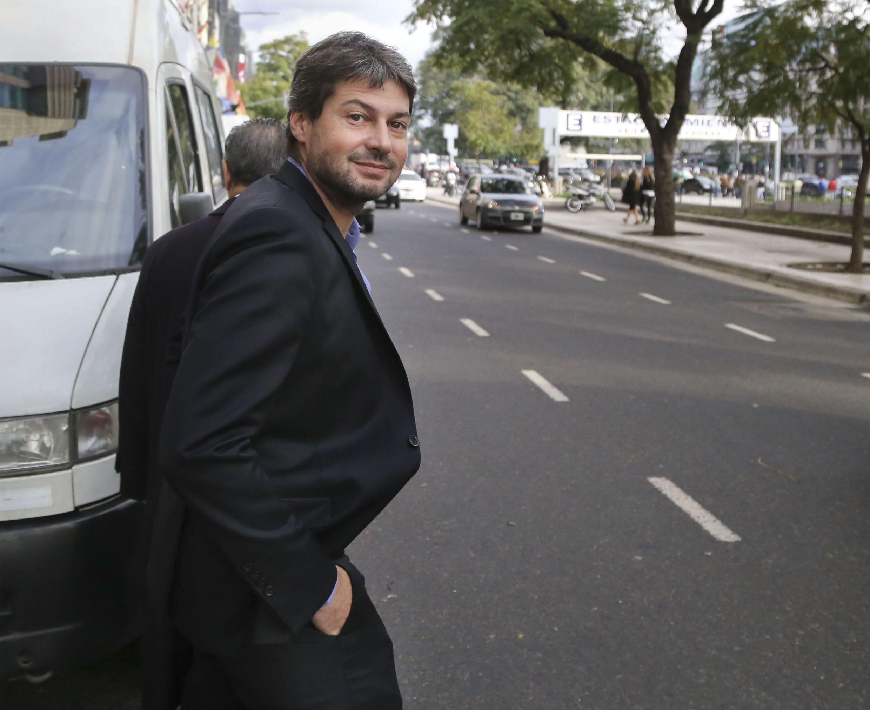 De frente. El mandamás azulgrana y tesorero de la AFA fue crítico con el momento de la casa madre del fútbol argentino.