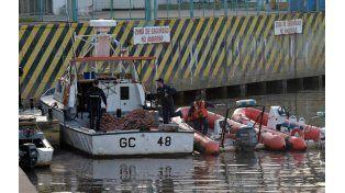 Prefectura Naval y personal de Gendarmería Nacional buscaban a ambos desde el día del accidente.