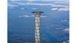 El ambicioso ascensor de 20 Km para viajar al espacio