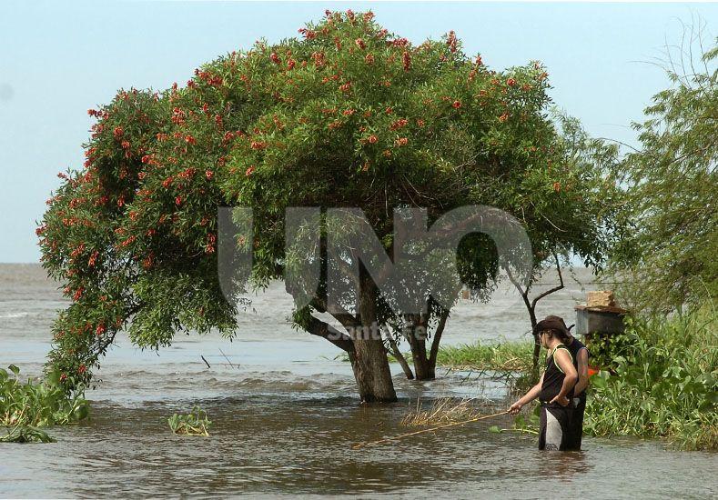 Atención. Ante la posibilidad de lluvias frecuentes en los próximos meses / Foto: Juan Manuel Baialardo - Uno Santa Fe