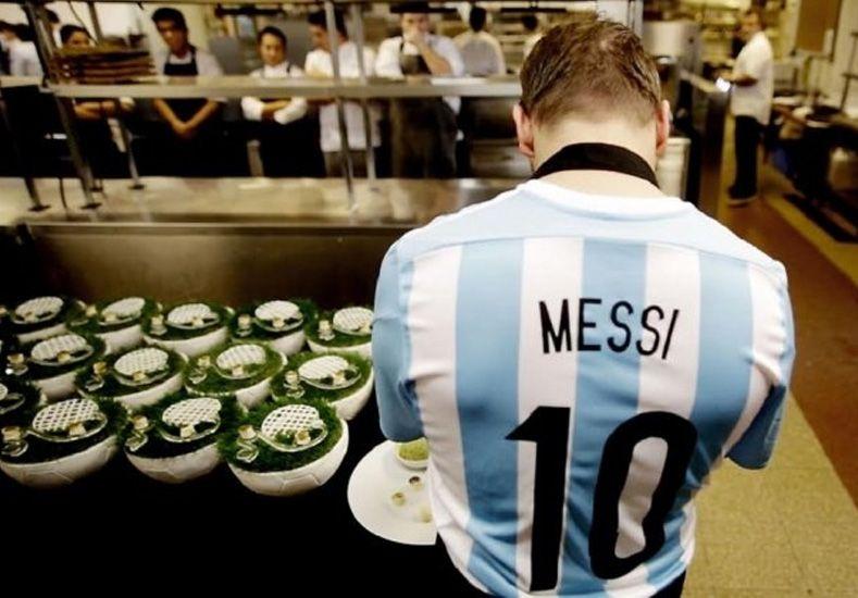 Un postre en honor a Lionel Messi