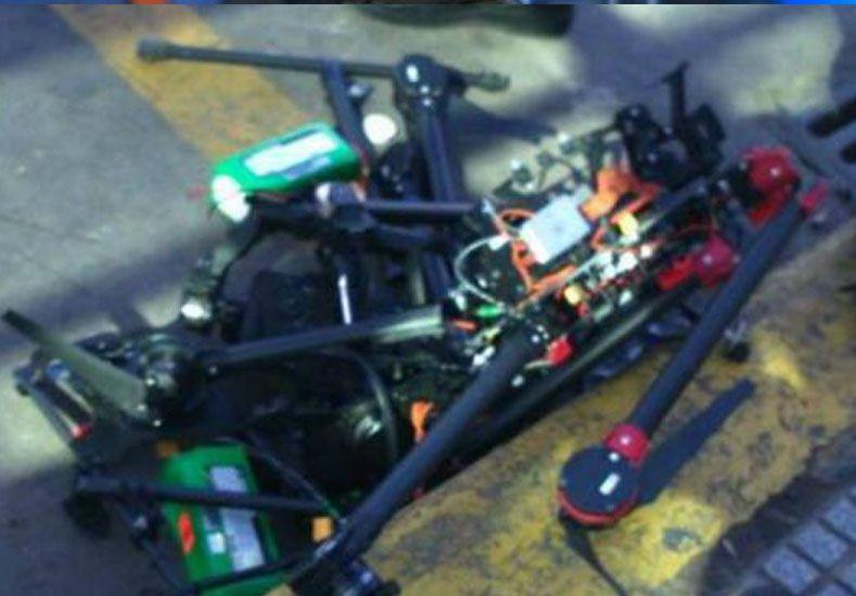 Dos mujeres fueron internadas al ser golpeadas por un drone