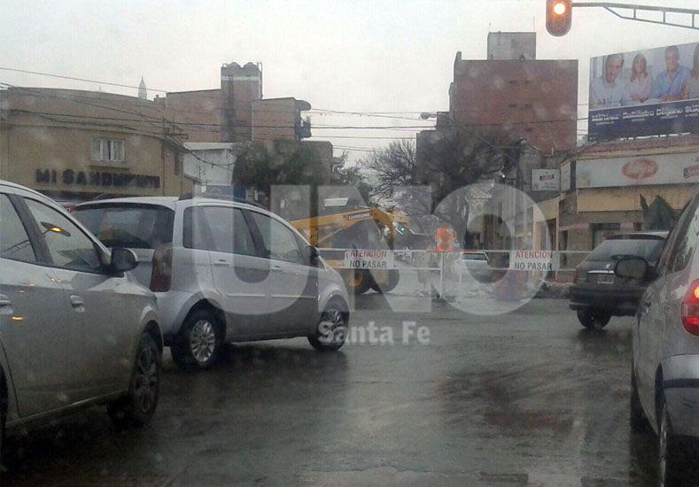 Nuevo corte en Urquiza y Bulevar