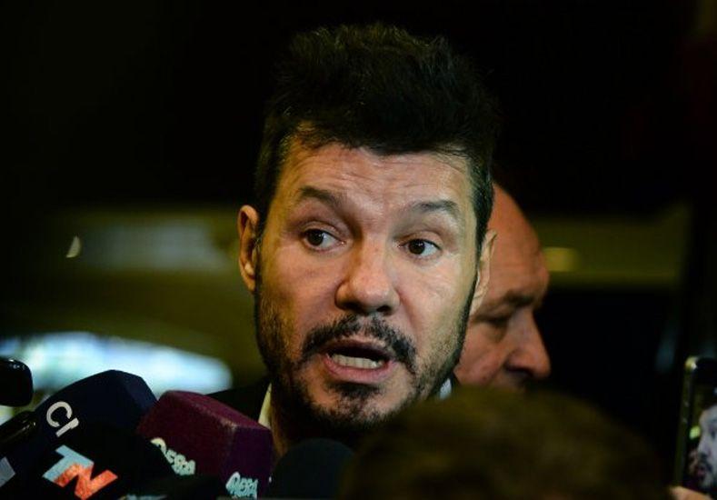 El Comité Ejecutivo de la AFA resolverá este martes la posible candidatura de Tinelli