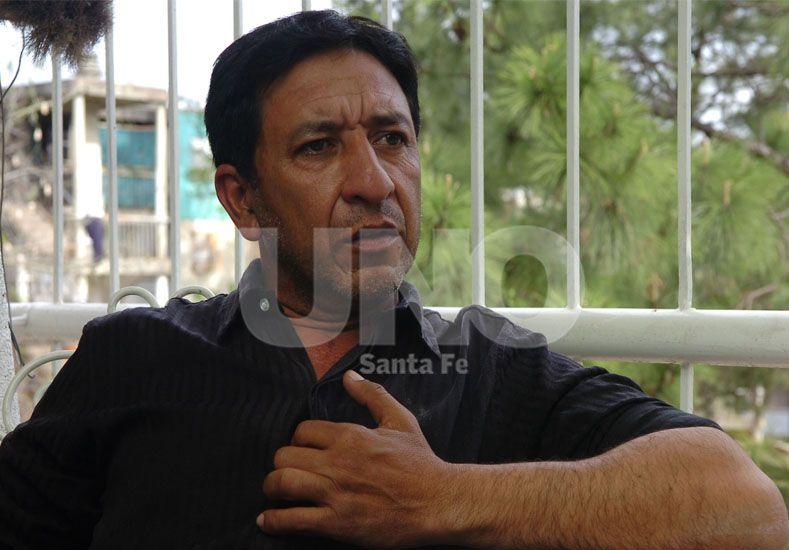Aldo Monzón. El padre de la víctima denunció el secuestro y luego llevó el caso a los medios
