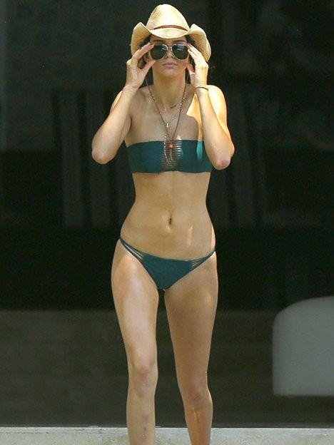 Kendal Jenner se robó todas las miradas con su biquini hot