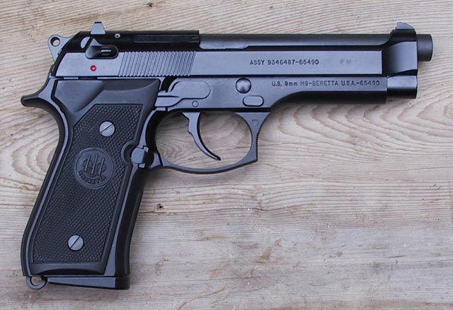 Imagen ilustrativa del arma que manipulaban los menos.