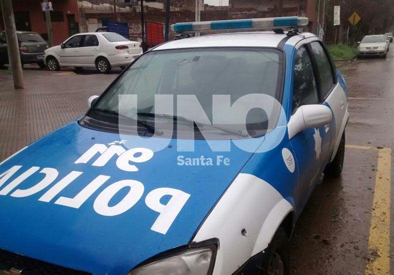 Impactaron con dos balazos un patrullero policial en Bº Barranquitas