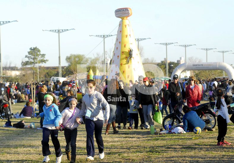 El Día del Niño se festeja en el Parque Federal