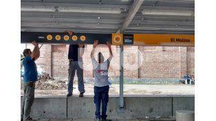 Tren Urbano: avanzan las tareas para la identificación de los apeaderos